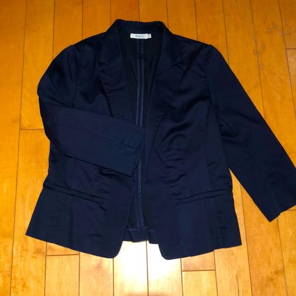 BOGO FREE Rickis navy blue 3/4 casual blazer 12
